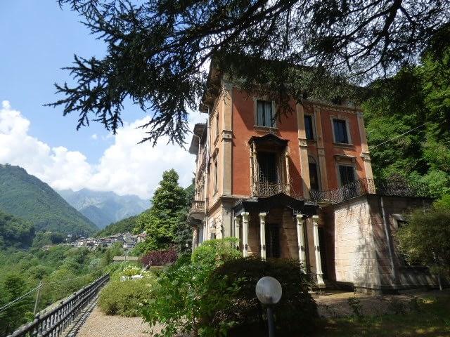 villa storica vendita valle cervo biella abita agenzia immobiliare